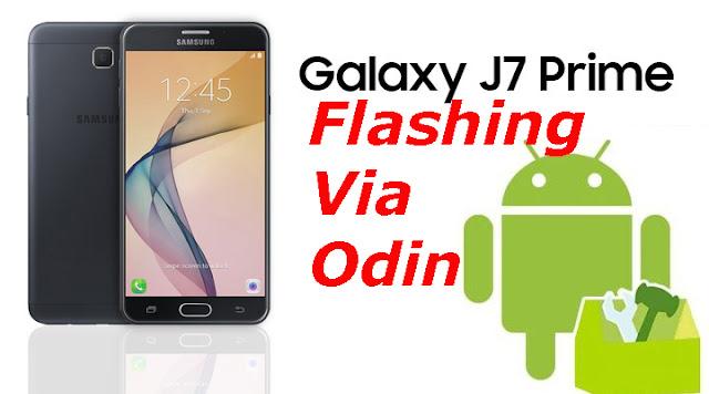 Sukses Cara Flash Samsung J7 Prime SM-G610F Marshmallow 6.0.1 Via Odin Terbaru