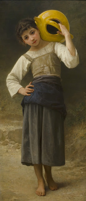 "Bouguereau  ""The Water Girl"""