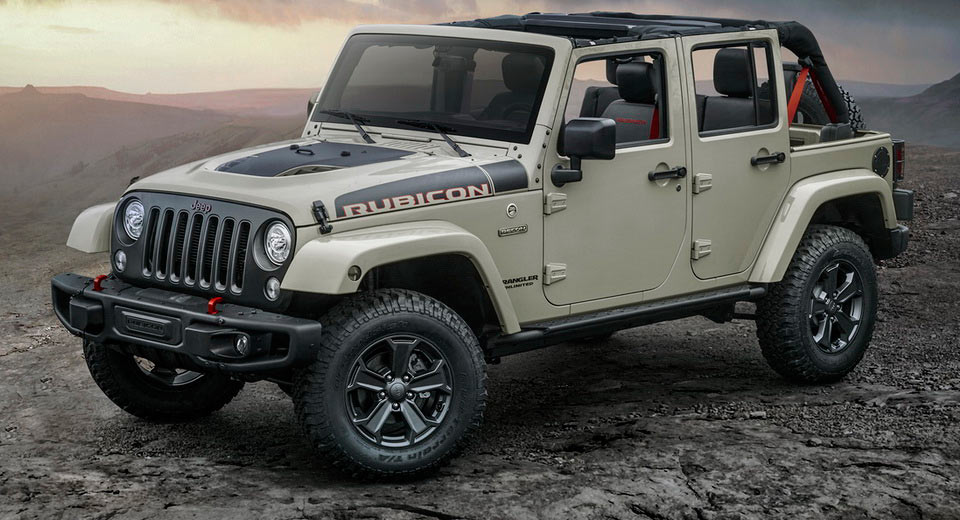 Jeep Rubicon 2017 Tuning >> Jeep Wrangler Rubicon Recon Edition Launched In The UK, Priced From £40,505