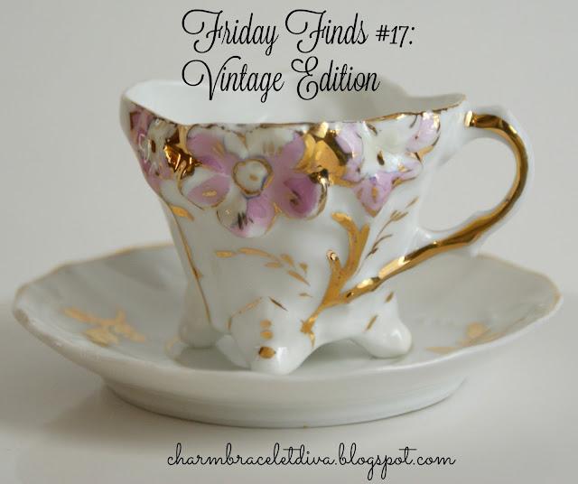 vintage mini china tea cup saucer