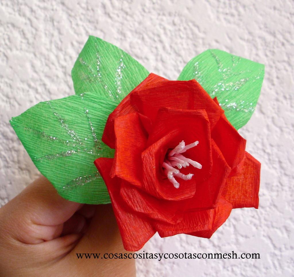 Flores De Papel Crepe Para La Primavera Cositasconmesh