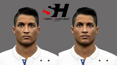 PES 2016 Cristiano Ronaldo Face by Prince Shieka