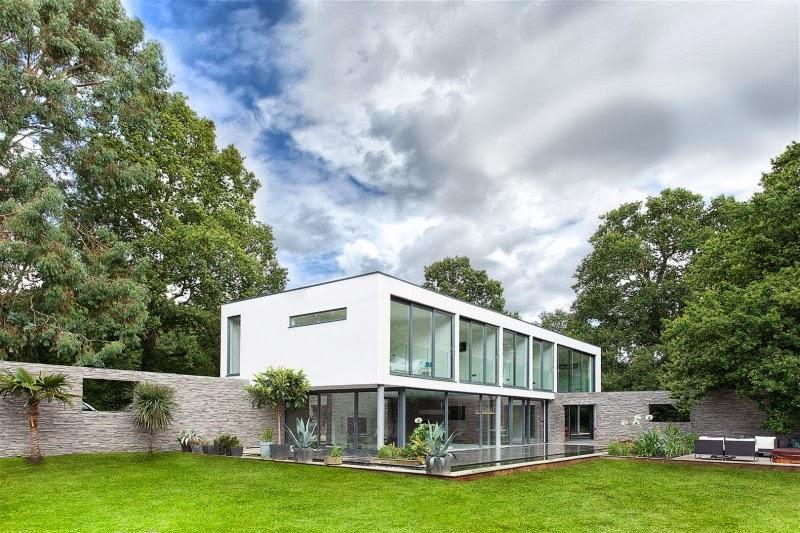 Hogares frescos impresionante casa moderna de cinco - Relajacion en casa ...