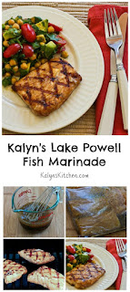 Kalyn's Lake Powell Fish Marinade and Grilled Mahi Mahi [from KalynsKitchen.com]