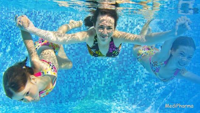 Chlorine In Pool Water May Cause Allergies