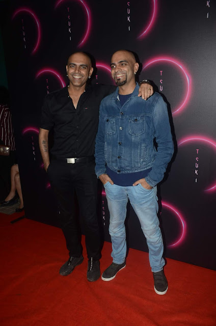 Rajiv Lakshman & Raghu Ram at the launch of Tsuki