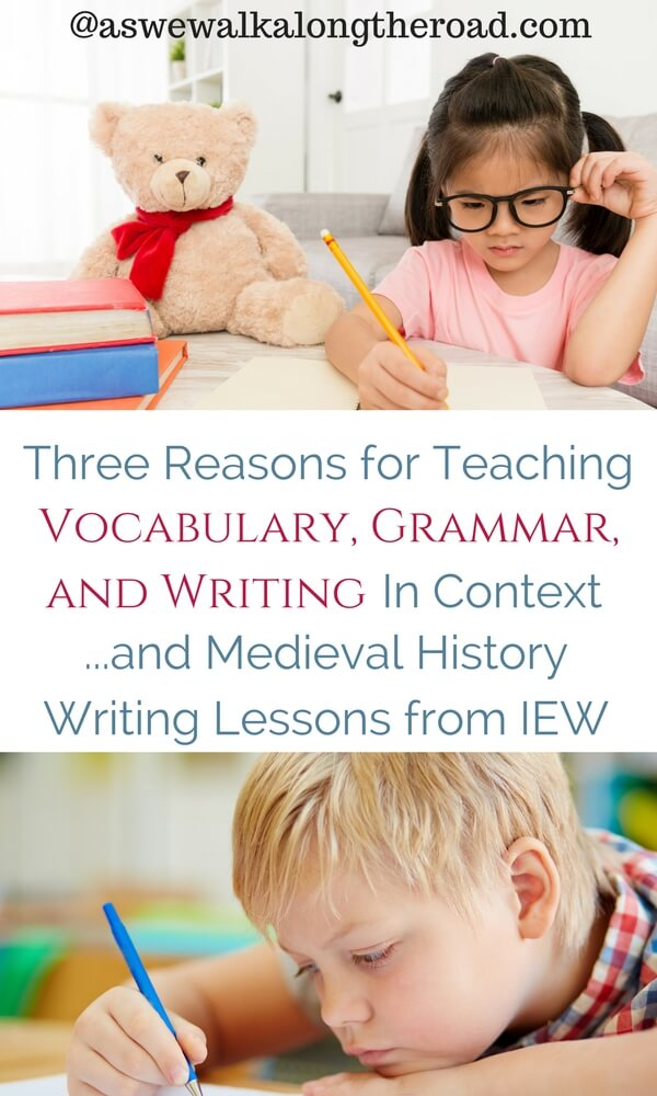 Teaching language arts in context; IEW review