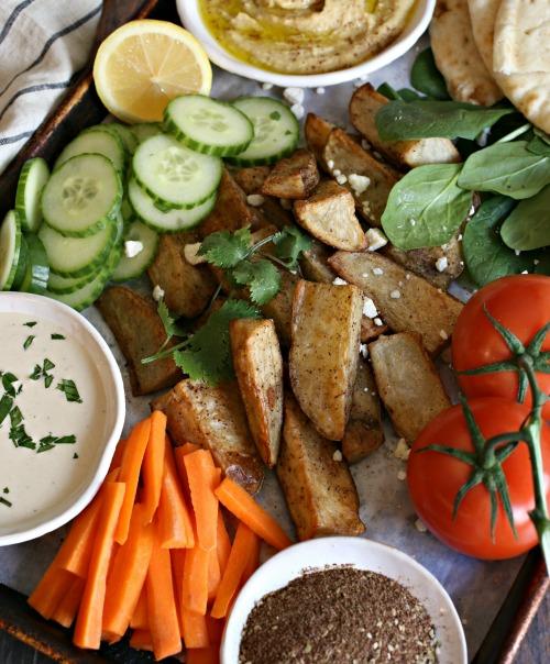 Middle-Eastern-Potato-Snack-Platter