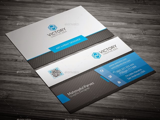 Erignesinelos Corporate Business Card