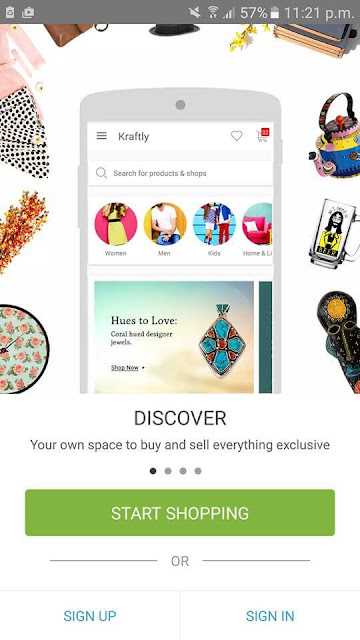 Kraftly - shop online easily