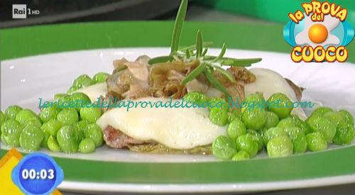 Piccante di piselli e scarola salata ricetta Gandola da Prova del Cuoco
