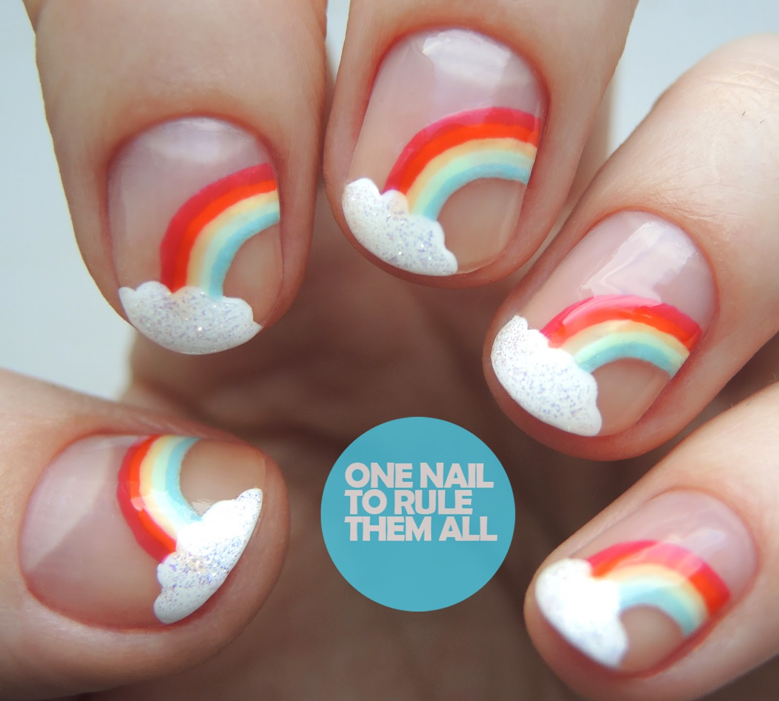 One Nail To Rule Them All: China Glaze My Little Pony Rainbows
