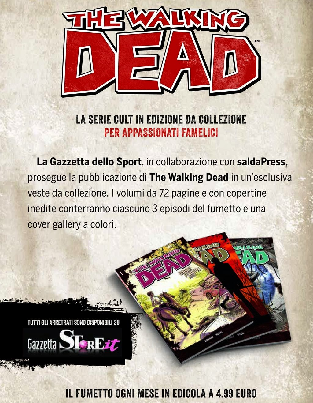 The Walking Dead - Gazzetta dello Sport