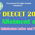 AP DEECET (DIETCET) 2017 Seat Allotment orders #2nd Phase @deecetap.cgg.gov.in DEd Admission Letter and Fee Details TTC  Seat Allotment