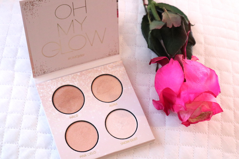Swatches de Oh My Glow Fotos