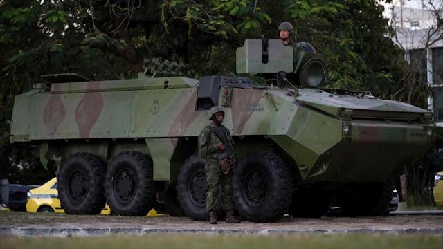 Temer moviliza 8500 militares para restablecer la seguridad