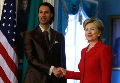 Moutassem sees Clinton