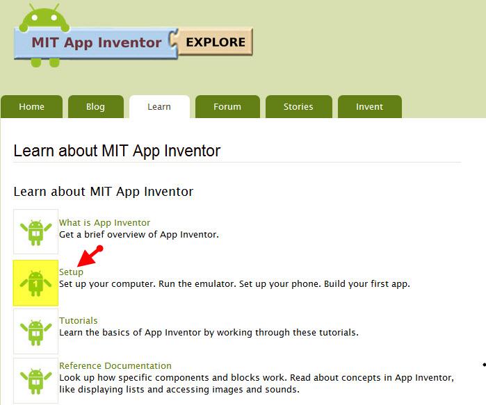 App Inventor: เริ่มต้นการใช้งาน app inventor
