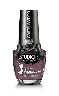 """Esmalte """"Hermione"""" da coleção Pausa para Feminices da Studio 35"""