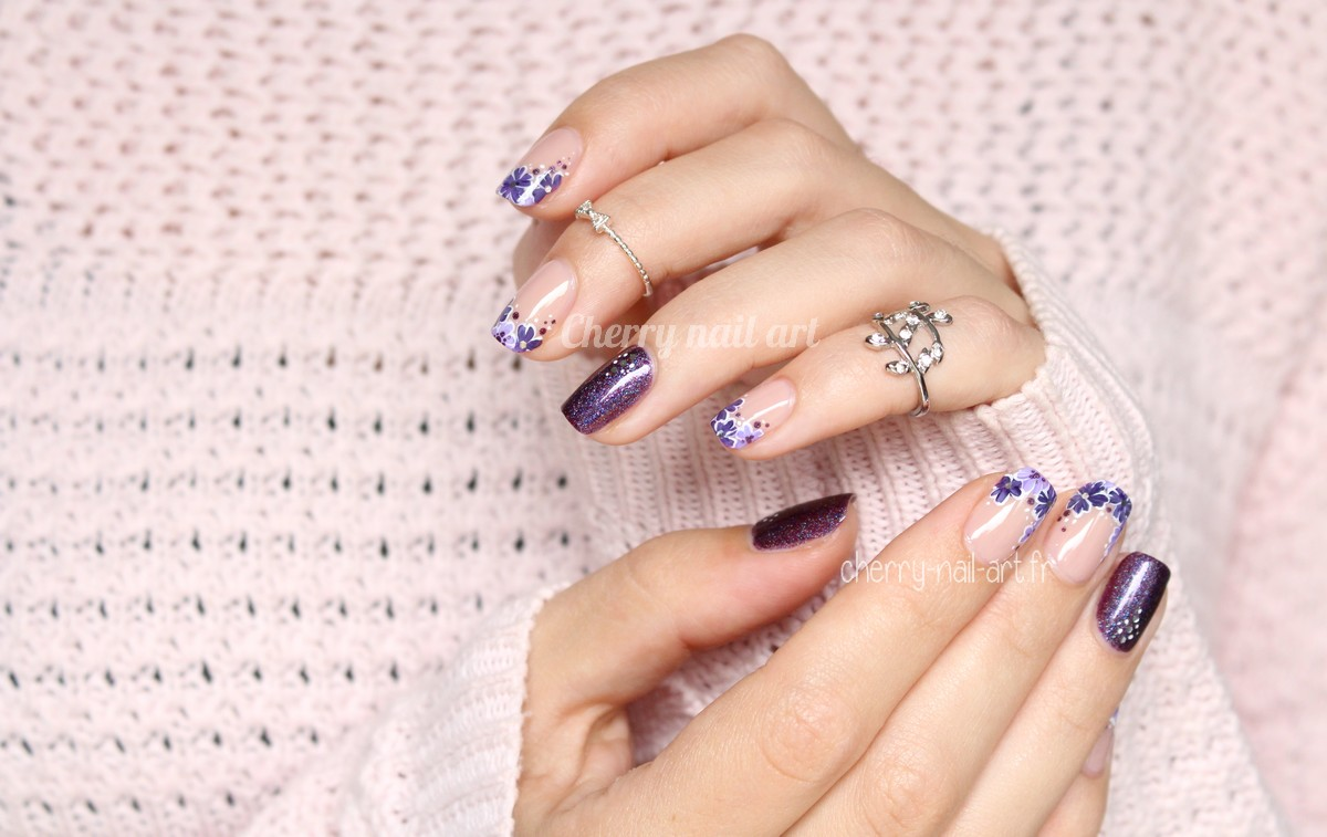 nail-art-french-manucure-fleurs