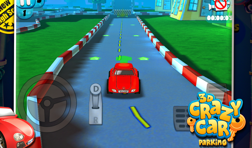 Most Amazing Kids Game 3D Crazy Car Parking FREE to Download « Free