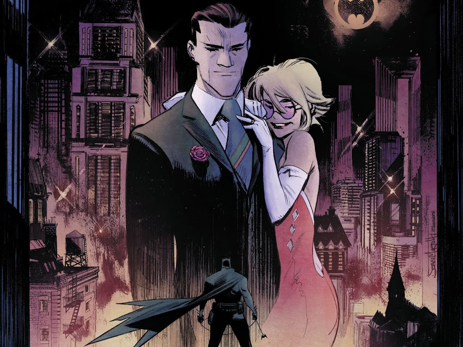 joker and harley quinn white knight dc comics