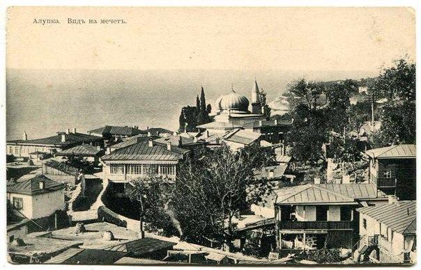 Вид на мечеть Алупки