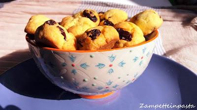 Biscotti con uvetta senza burro
