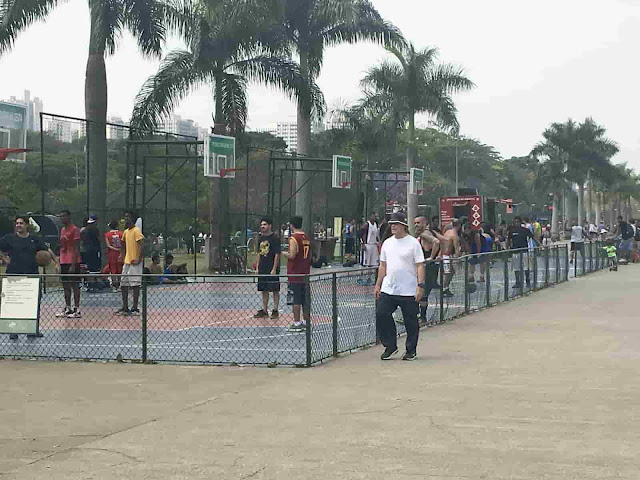 Parque Villa-Lobos - Quadra de basquete