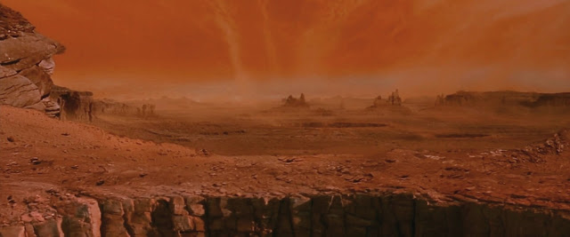 Martian landscape - image from Ghosts of Mars movie