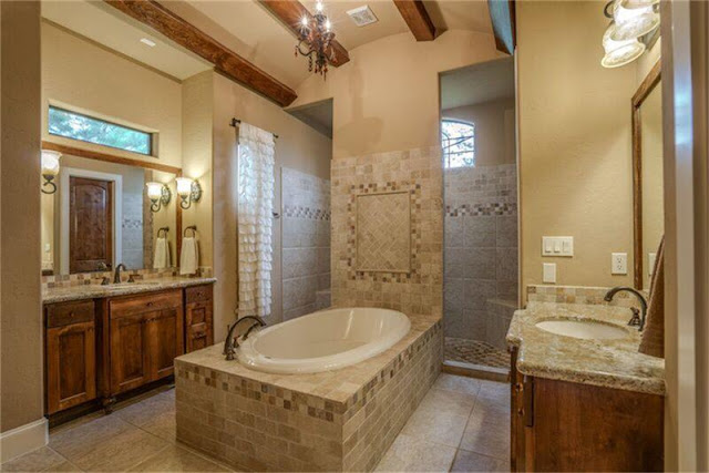 Home Styles-Master Bathroom-Craftsman-Wood Beams- From My Front Porch To Yours