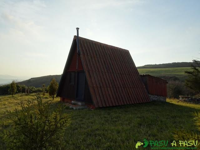 Cabaña en el mirador de las cercanías del Cielo