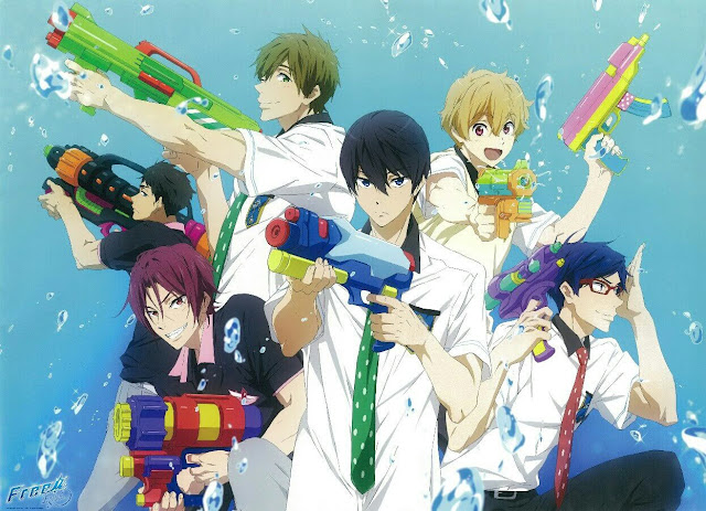 Download OST Opening Ending Anime Free!: Eternal Summer / Free 2nd Season Full Version