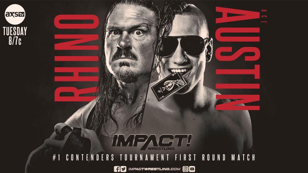 Ace Austin irá substituir Ken Shamrock no torneio para determinar o desafiante ao Impact World Championship