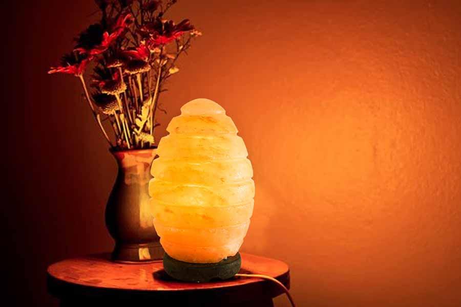 Đèn đá muối Himalaya Hình Quả Trứng