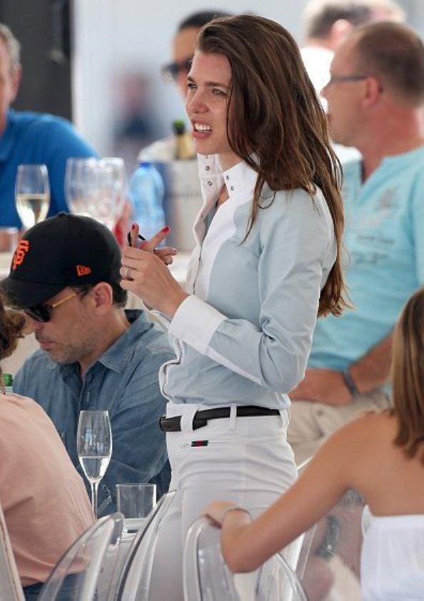 Charlotte Casiraghi At The Longines Athina Onassis Horse Show