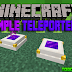 Lemon's Simple Teleporters Mod para Minecraft 1.11