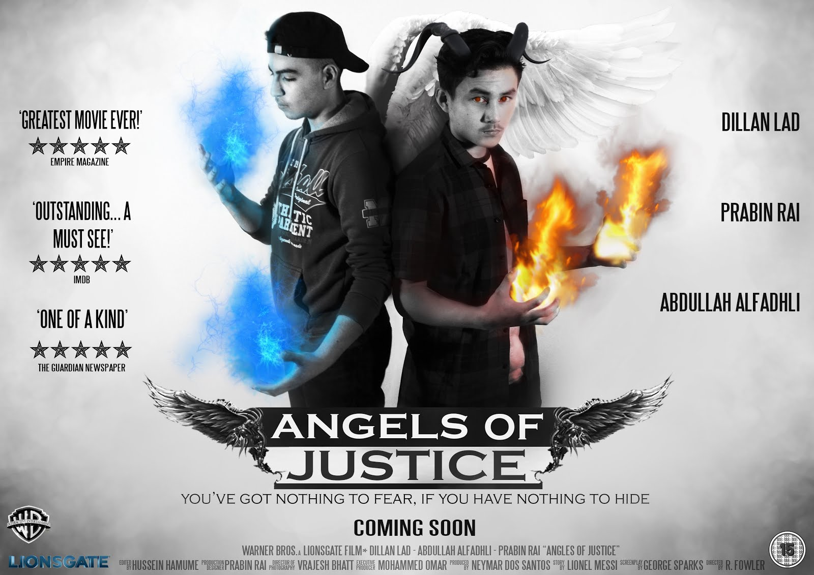 Movie poster assignment english