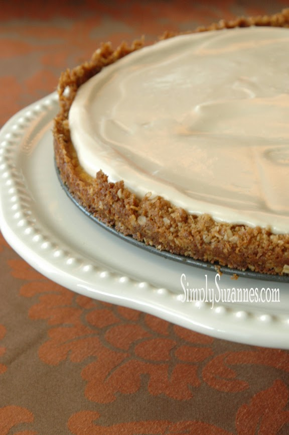 Simply Suzanne's Pumpkin Cheesecake-Treasure Hunt Thursday- From My Front Porch To Yours