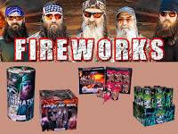 Duck Dynasty fireworks in Tennessee
