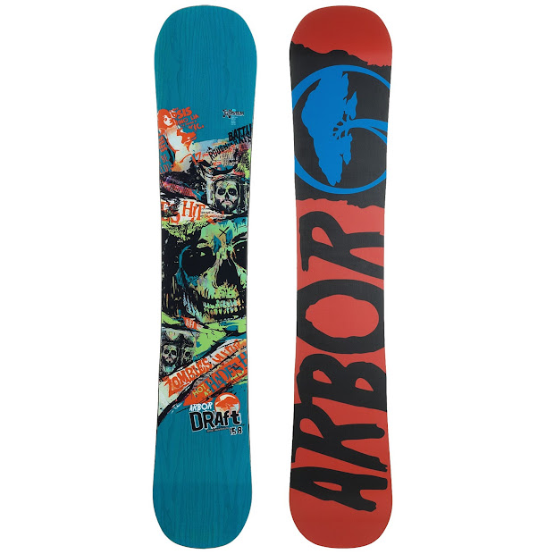 Arbor Draft Snowboard Decal Galleries