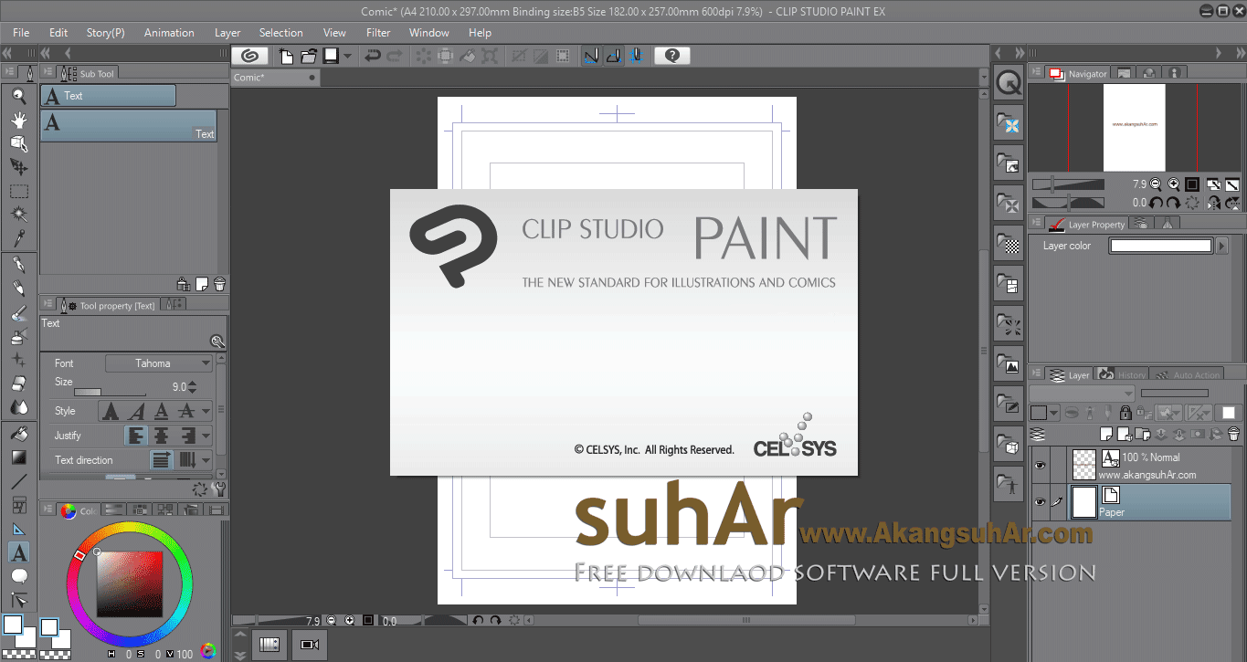 Download CLIP STUDIO PAINT EX Final Latest Version, CLIP STUDIO PAINT EX Offline Installer, CLIP STUDIO PAINT EX Terbaru