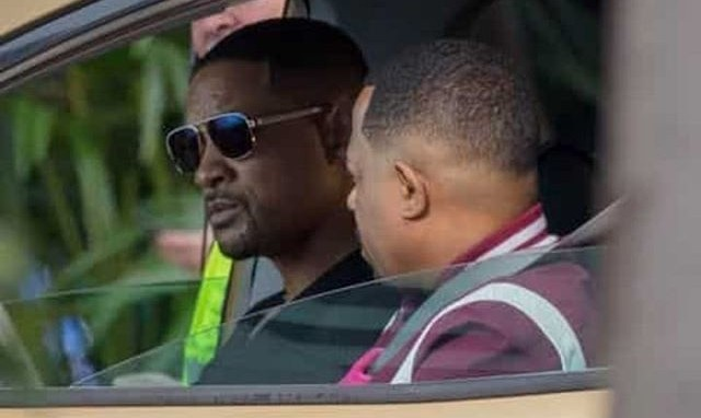Pictures of 'Bad Boy For Life' Set Surfaces, Will Smith and Martin Lawrence Still Kicking In Their 50s! .