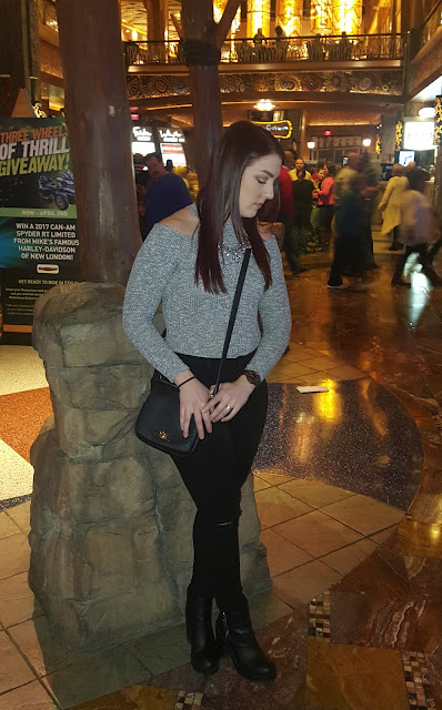 OOTD: This is How We Roll at Mohegan Sun