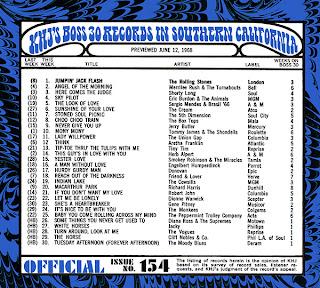 KHJ Boss 30 No. 154 - June 12, 1968