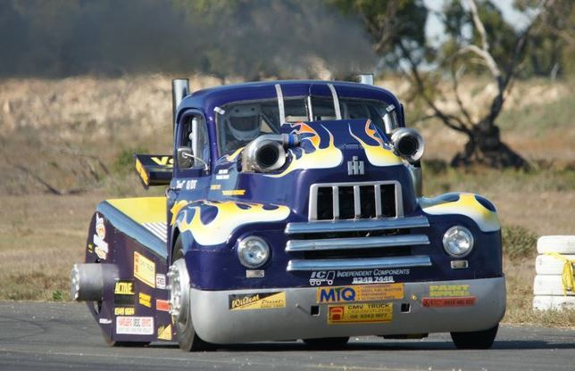 IH Land Speed Racing Big Rig The Neighbours Nightmare 1950 Model R190 Thats Went 151mph Purpose Built To Race On Salt Flats At Lake Gairdner