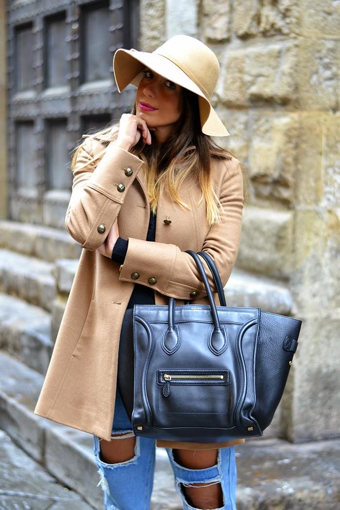 online store 8de21 e72f1 Cappotto color cammello e slip on leopardate