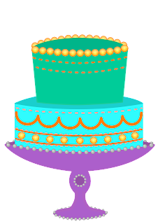 Classroom Treasures Birthday Cake Clipart