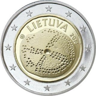 2€ Culture Baltique Lituanie 2016