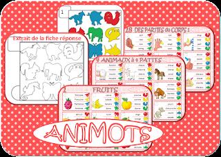 Identifier le mot qui correspond au dessin